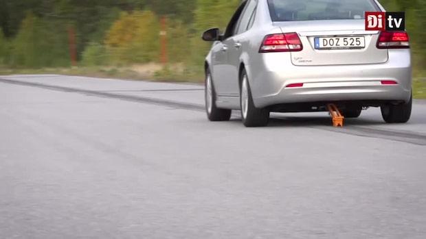 Se hur bilen laddas - samtidigt som den kör