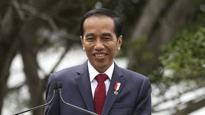 Indonesiens president Joko Widodo. Foto: Rick Rycroft / AP TT NYHETSBYRÅN