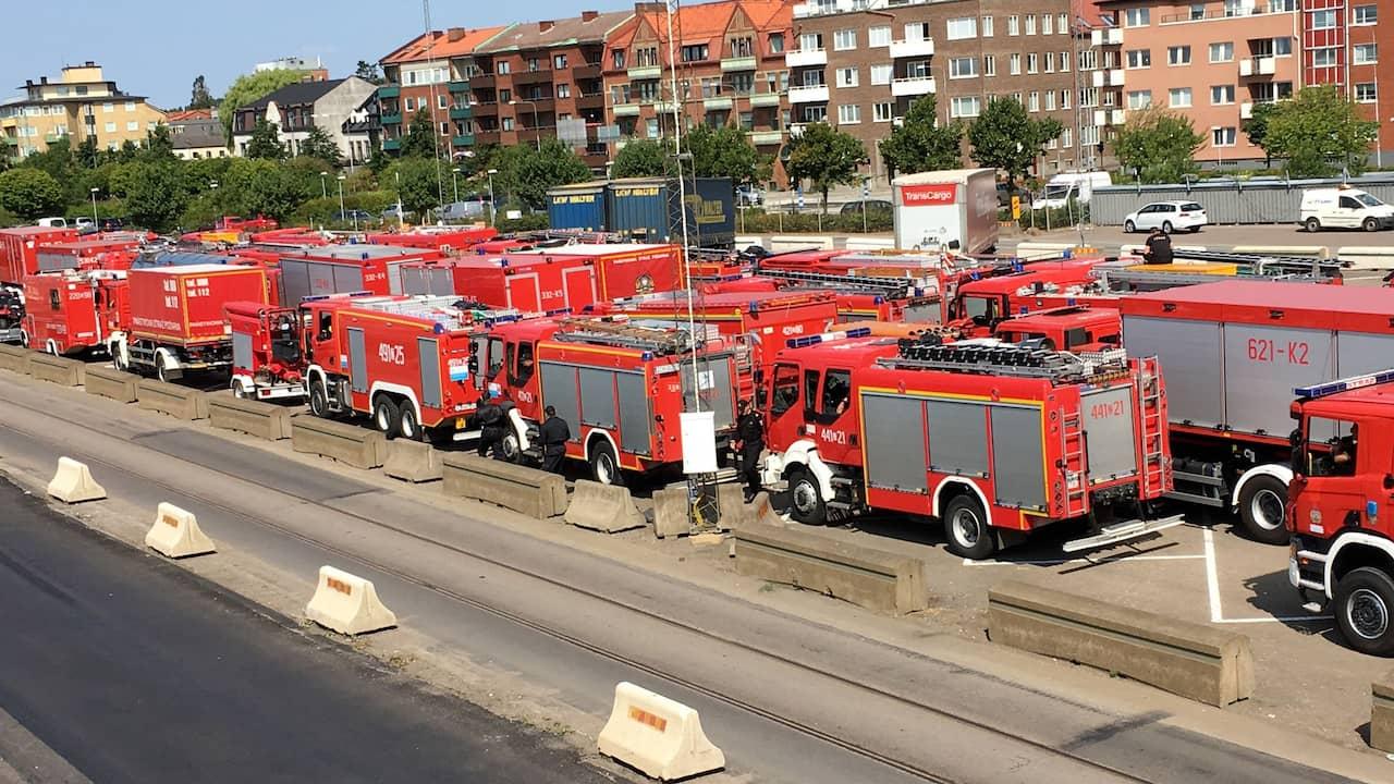 140 polska brandmän på väg för att hjälpa till i infernot