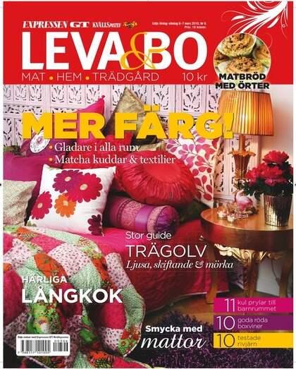 Leva& Bo dagens bilaga Leva& bo
