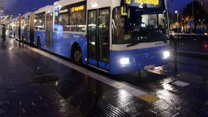 Attacken skedde på en buss i Frölunda i Göteborg. Obs, genrebild. Foto: LEIF GUSTAFSSON