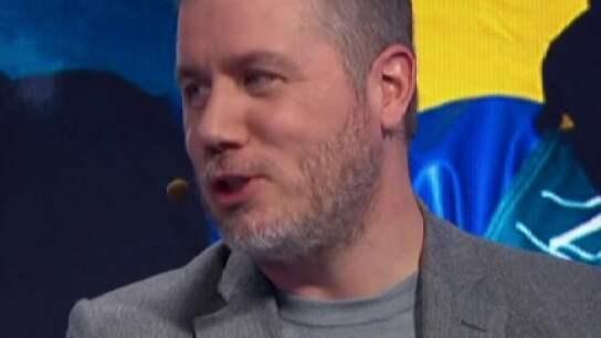 Per Elofsson i Kanal 5:s sändning.
