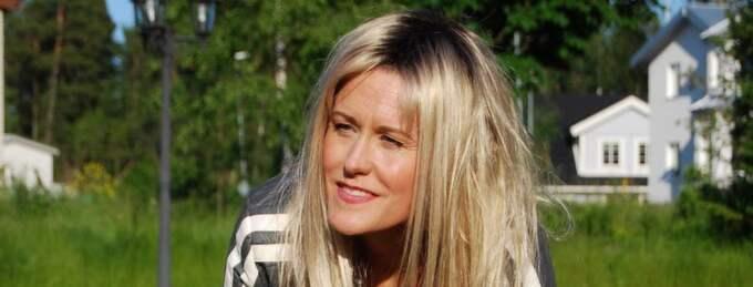 Annika Ljungberg, känd från Rednex, kämpar för att bli frisk. Foto: Privat