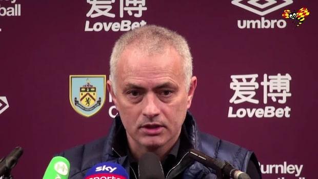 """Mourinho sågar sin spelare: """"Måste ge oss mer"""""""