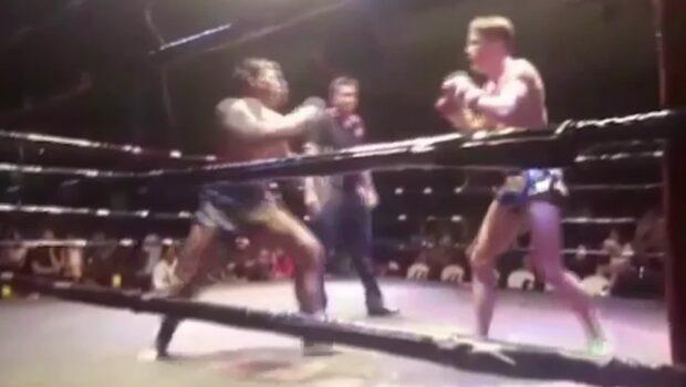 Lancelot Hedman gör succé - som thaiboxare
