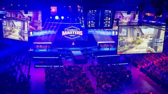 Dreamhack Masters är tillbaka i Malmö arena för andra året i rad. Foto: PEO MÖLLER / KVP/EXPRESSEN