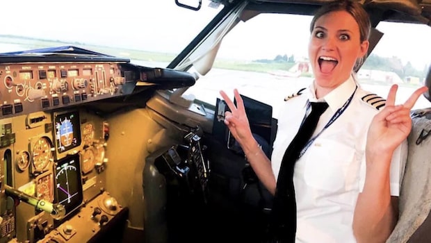 Sara, 33, reser jorden runt med nya drömjobbet
