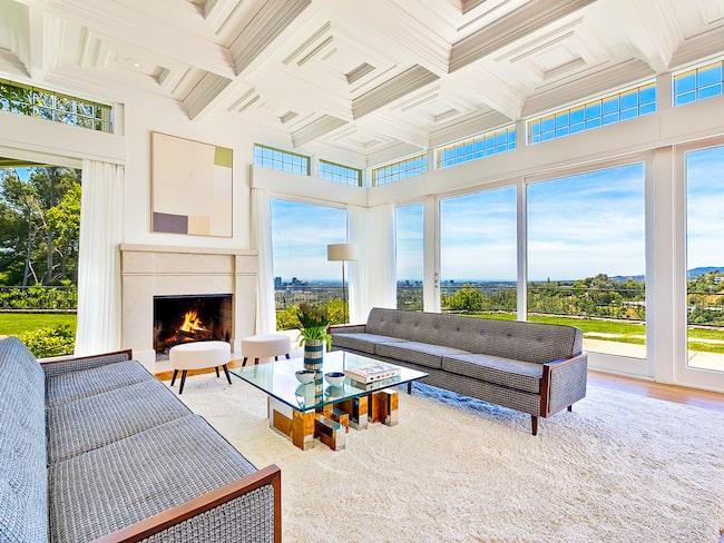 Härlig utsikt från vardagsrummet, Elvis.