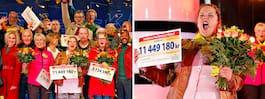 Camillas drömhus brann  ner – vann 11,4 miljoner