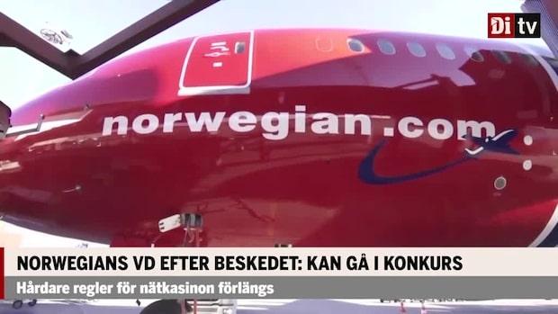 Norwegians vd efter beskedet: Kan gå i konkurs