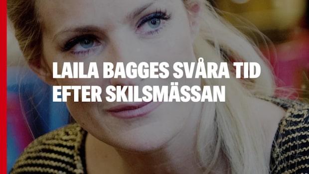 Laila Bagges svåra tid efter skilsmässan –gått i terapi