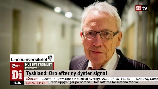 """Oro i Tyskland efter ny dyster signal: """"Läget påtagligt försämrat"""""""