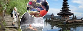 Vandringstur i Balis grönskande regnskog