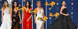 GETINGBETYG: De var bäst klädda på Emmy-galan