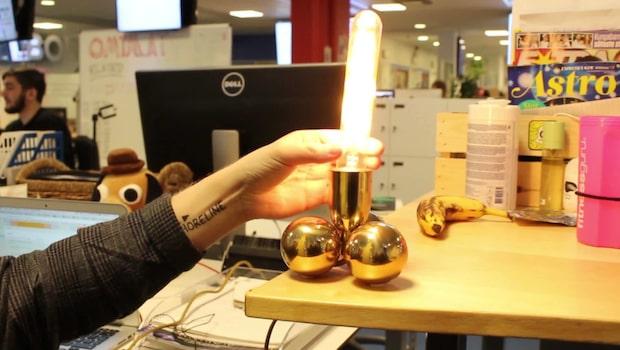 Lampan liknar inget du har sett, eller?