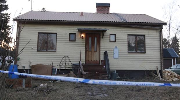 Kropp hittades inlindad i matta –drogs ut från Thereses hus