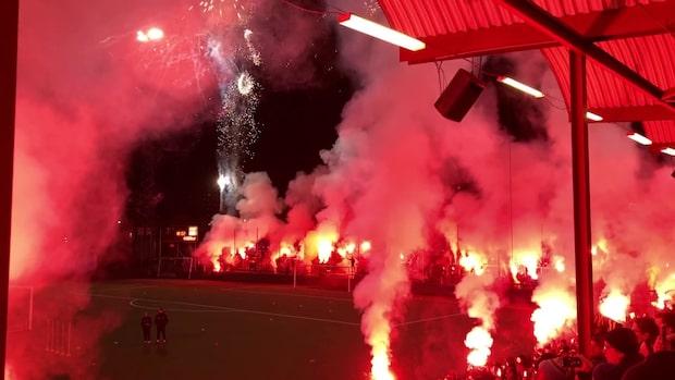 Tusentals såg AIK:s första träning 2020