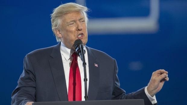 Intensiv vecka för Donald Trump