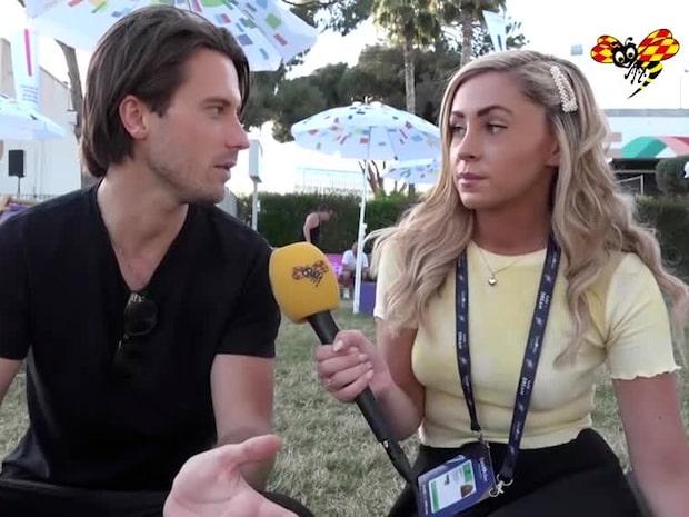 Victor Crone tävlar för Estland i Eurovision