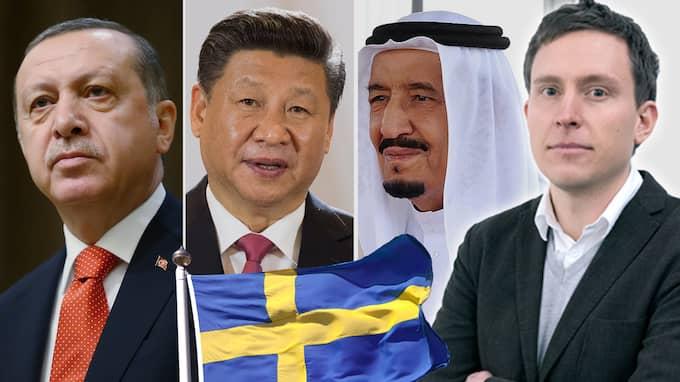 Det är inte bara Ryssland som bearbetar svenska sinnen. Turkiets Recep Tayyip Erdoğan, Kinas Xi Jinping och Saudiarabiens Salman bin Abdul Aziz satsar också resurser här, skriver Patrik Kronqvist.
