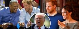 Därför får inte Obama gå på Harrys och Meghans bröllop