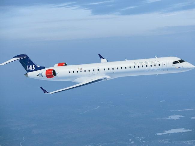 Den 24 juni börjar SAS flyga till Visby med CRJ-900.