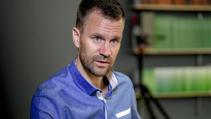 Johan Gustafsson är tillbaka i Sverige efter nästan sex år som fånge hos al-Qaida. Foto: ALEX LJUNGDAHL EXPRESSEN
