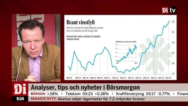Ulf Petersson om bolaget Skistar: Det ser bra ut