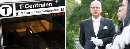 Robert Wennekes på The International Butler Academy tycker att förslaget om butler i tunnelbanan är lysande. Foto: Mattias Forsberg/private-staff.com