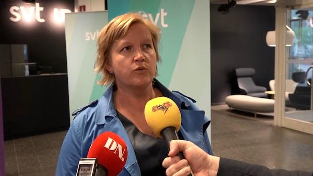 """Karin Karlsbro (L) om låga siffrorna: """"Många känner en oro"""""""