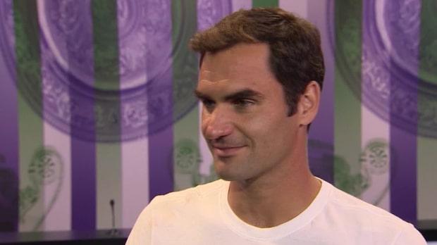 """Federer: """"Svårt att ta in vad jag gjort"""""""