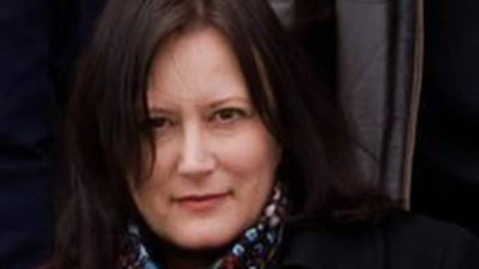 Expressen Kulturs medarbetare Annina Rabe. Foto: Cato Lein