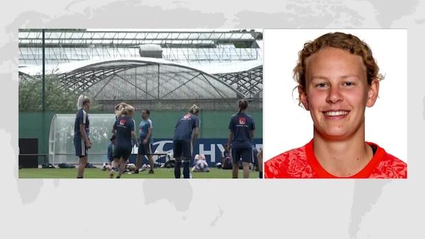 """Cajsa Andersson: """"Det blir en ganska jämn match"""""""