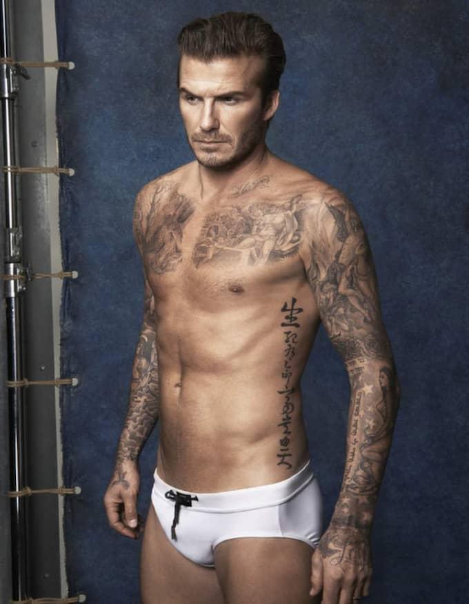 David Beckham Swimwear Collection släpps 22 maj. Foto: H&M