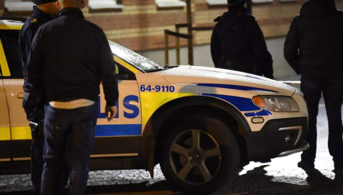 En person har avlidit efter en skottlossning utomhus på Ödmanssonsgatan i Landskrona sent på torsdagskvällen. Foto: Andreas Holm