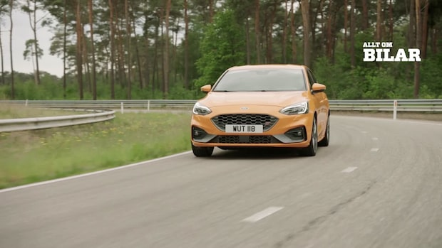 Allt om Bilar provkör Ford Focus ST