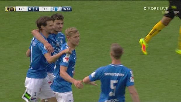 Sebastian Olsson ger Trelleborg ledningen