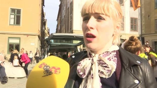 """Cissi Wallin om knytblusmanifestationen: """"Vi vet tillräckligt"""""""