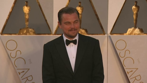 Leonardo DiCaprio stolt över sin otränade kropp
