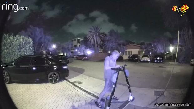 Här åker elcykelsabotören fast