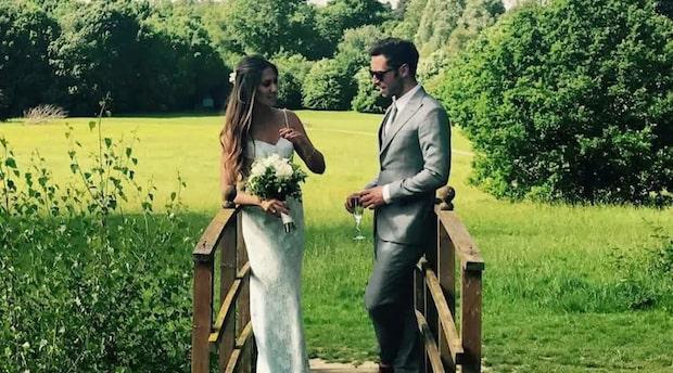 Måns Zelmerlöws bröllopsbild får fansen att undra