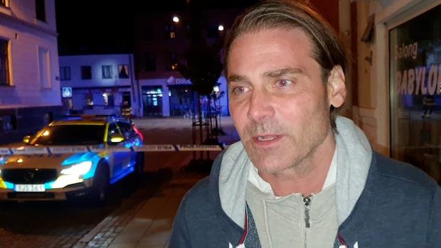 """Vittnet om explosionen i Lund: """"Jag hörde en stor, stor smäll"""""""