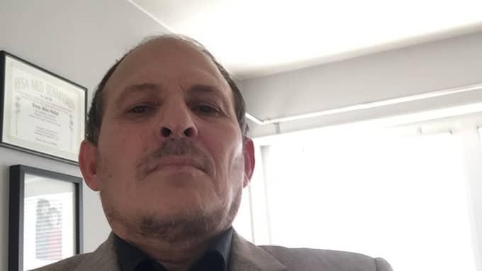 Ismail Abuhelal är imam, och rektor på Islamiska skolan i Växjö. Foto: Privat