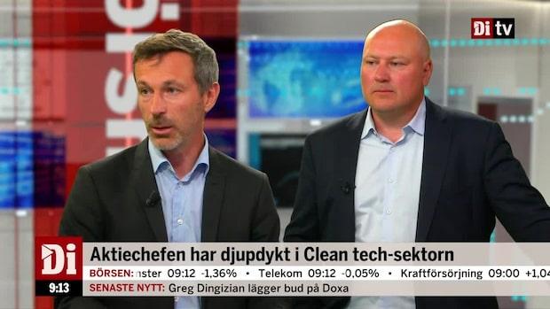 """Aktiechefen: """"Inget clean tech-fokus i stora fonder - än"""""""