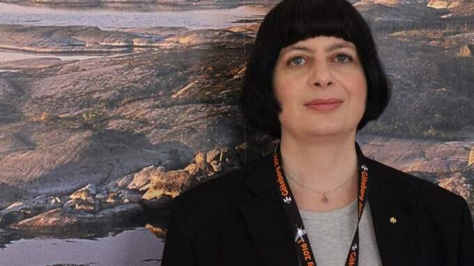 """Monika Orski, ordförande i Mensa Sverige, föreningen för folk med hög IQ, sågar sina medlemmar internt i en sluten Facebook-grupp efter ett fylleslag på stadshotellet i Eskilstuna: """"Ni är en skam, och förtjänar inga bättre skällsord än jävla idioter."""" Foto: Mensa"""