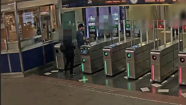 Efterlyst för stöld i tunnelbanan
