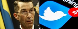 Officer straffas efter  kritiskt twittrande