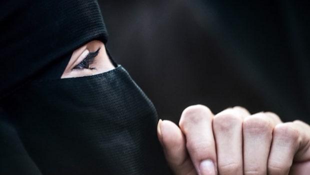 Nu är det förbjudet att bära burka i Danmark