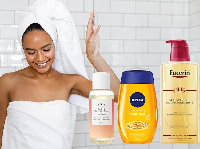 badolja för torr hud