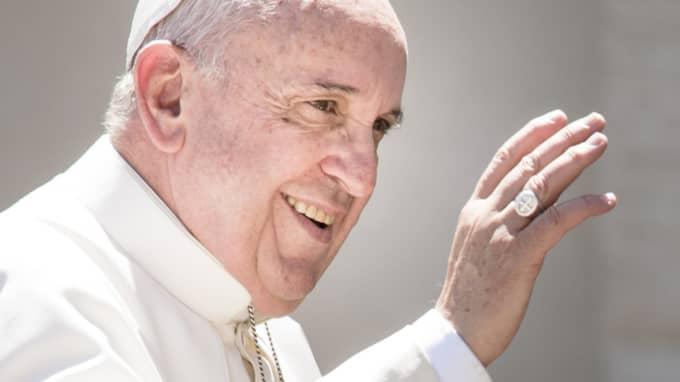 Påve Franciskus kommer till Sverige på ett historiskt besök. Foto: Nurphoto/Rex Shutterstock